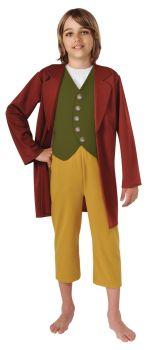 Boy's Bilbo Baggins Costume - The Hobbit - Child Medium