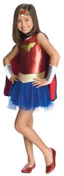 Girl's Wonder Woman Tutu Dress - Child Small