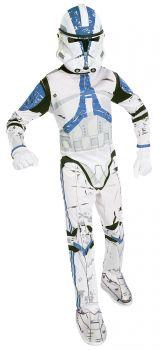 Boy's Clone Trooper Costume - Star Wars Classic - Child Medium