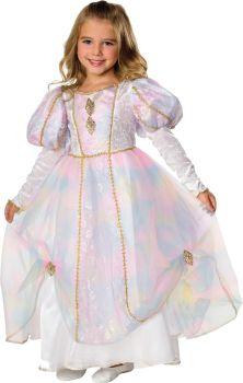 Girl's Rainbow Princess Costume - Child Large