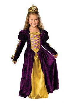 Regal Queen Costume - Child Small