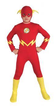 Boy's Flash Costume - Child Large
