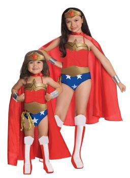 Girl's Wonder Woman Costume - Child Small
