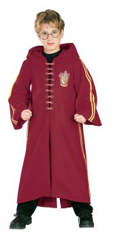 Boy's Deluxe Quidditch Costume - Harry Potter - Child Large