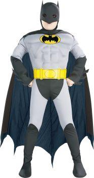 Boy's Batman Muscle Chest Costume - Child Large