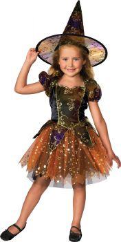 Girl's Elegant Witch Costume - Child Medium