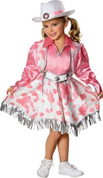 Girl's Western Diva Costume - Child Medium