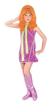 Girl's Daphne Costume - Scooby-Doo - Child Large