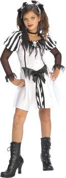 Girl's Punky Pirate Costume - Child Medium