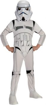 Boy's Stormtrooper Costume - Star Wars Classic - Child Large