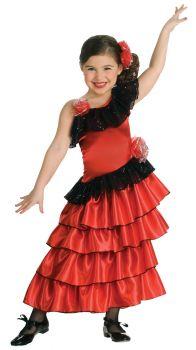 Girl's Spanish Princess Costume - Child Medium
