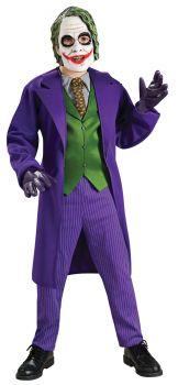 Boy's Deluxe Joker Costume - Dark Knight Trilogy - Child Large
