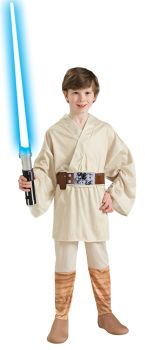 Boy's Luke Skywalker Costume - Star Wars Classic - Child Medium