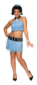Women's Sexy Betty Rubble Costume - The Flintstones - Adult Medium