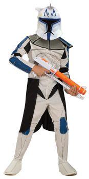 Boy's Captain Rex Costume - Star Wars: Clone Wars - Child Medium