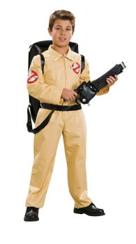 Boy's Deluxe Ghostbusters Costume - Child Large
