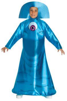 Boy's B.O.B. Costume - Monsters Vs. Aliens - Child Medium