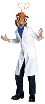 Boy's Dr. Cockroach Costume - Monsters Vs. Aliens - Child Small
