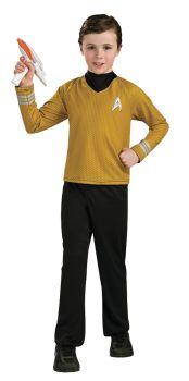 Deluxe Gold Star Trek Shirt - Child Small
