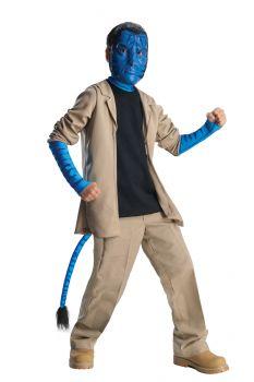 Boy's Deluxe Jake Sulley Costume - Avatar - Child Medium