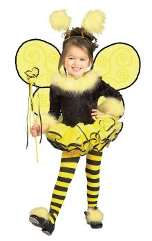 Girl's Bumblebee Costume - Child Small