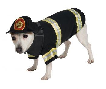 Firefighter Pet Costume - Pet XL