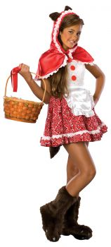 Red Riding Hood Tween Costume - Tween M (10 - 12)