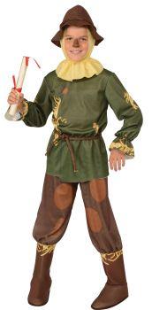 Boy's Scarecrow Costume - Wizard Of Oz - Child Medium
