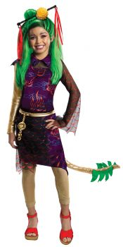 Girl's Jinafire Costume - Monster High - Child Small
