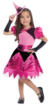 Girl's Witch Barbie Costume - Child Small
