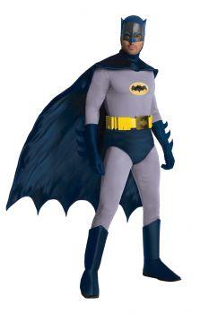 Men's Grand Heritage Batman Costume - Batman TV Show 1966 - Adult OSFM