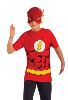 Flash Shirt & Mask - Child Large