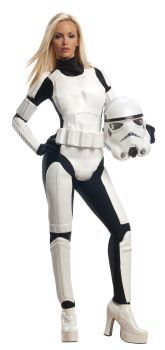 Women's Stormtrooper Costume - Star Wars Classic - Adult Small