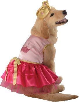 Princess Pup Pet Costume - Pet M