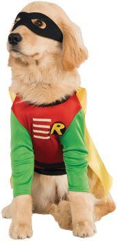 Robin Pet Costume - Teen Titans - Pet S