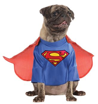 Superman Pet Costume With Arms Costume - Pet L