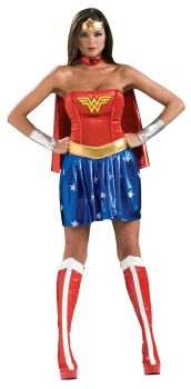 Women's Deluxe Wonder Woman Costume - Adult Medium