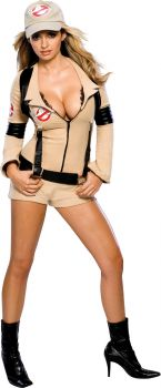 Women's Sexy Ghostbusters Costume - Adult Medium