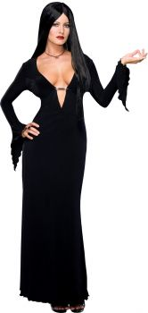 Women's Morticia Costume - The Addams Family - Adult Medium