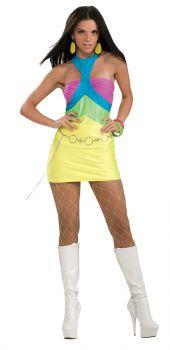 Adult Neon Groove Costume - Adult OSFM