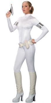 Women's Padme Amidala 1-Piece Costume - Star Wars Classic - Adult Medium