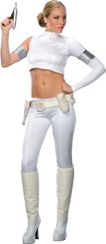 Women's Padme Amidala 2-Piece Costume - Star Wars Classic - Adult Medium