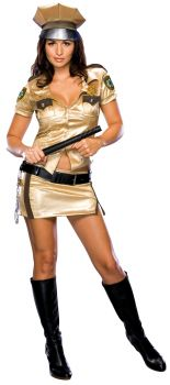 Women's  Deputy Costume - Reno 911 - Adult Medium