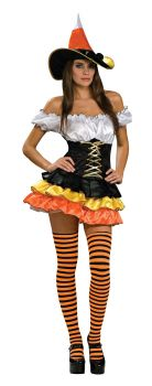 Women's Candy Corn Cutie Costume - Adult Medium