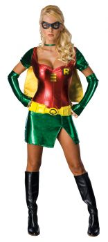 Women's Sexy Robin Costume - Teen Titans - Adult X-Small