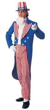 Men's Uncle Sam Costume - Adult Large