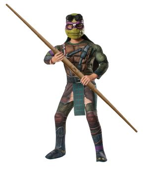 Boy's Donatello Costume - Ninja Turtles - Child Large