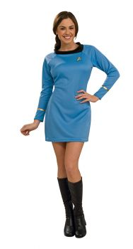 Women's Deluxe Star Trek Dress - Adult Medium
