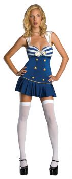 Women's Anchors Away Costume - Adult Small