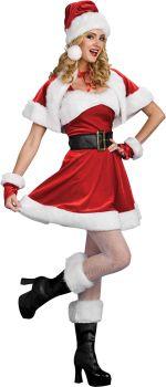 Women's Santa's Sassy Helper Costume - Adult Small
